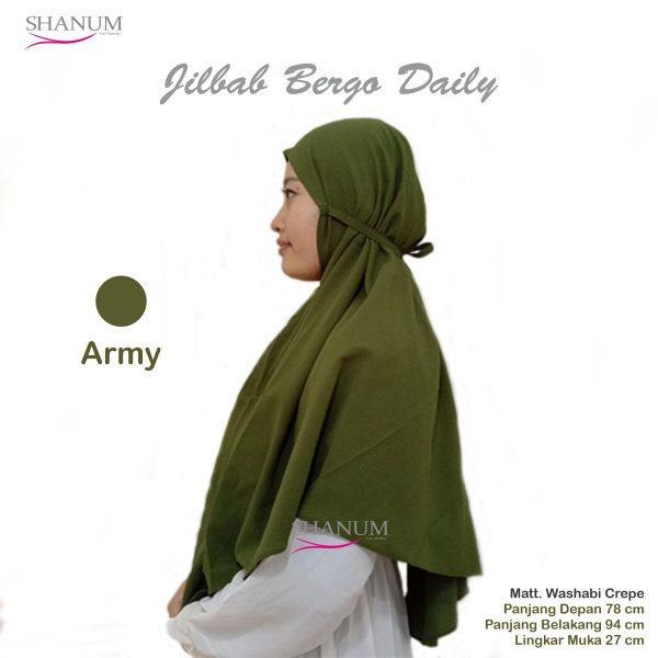 jual Jilbab bergo daily
