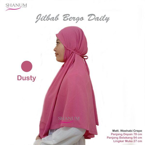 distributor Jilbab bergo daily