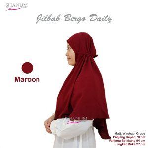 konveksi Jilbab bergo daily