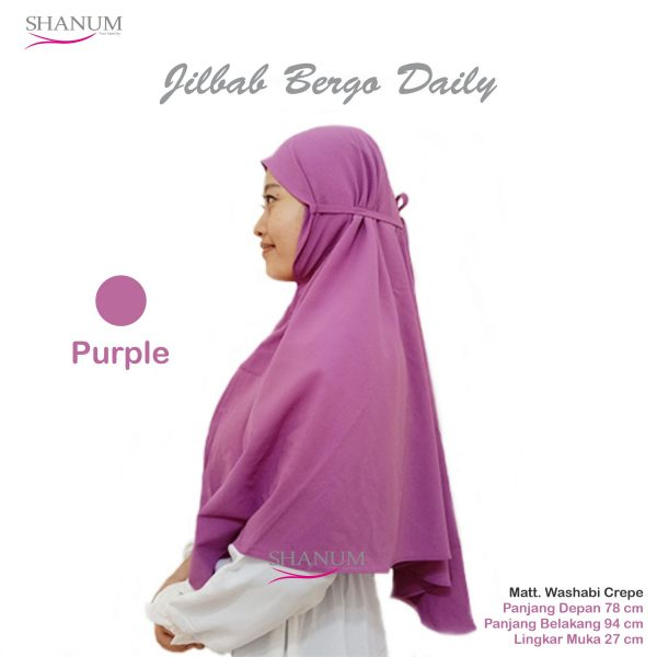 supplier Jilbab bergo daily