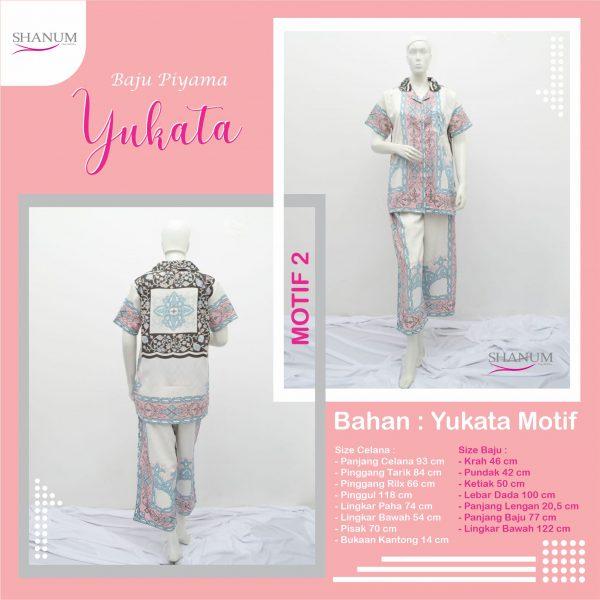 Jual Piyama Yukata Motif 2