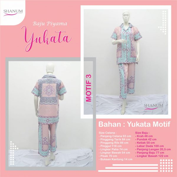 Reseller Piyama Yukata Motif 3