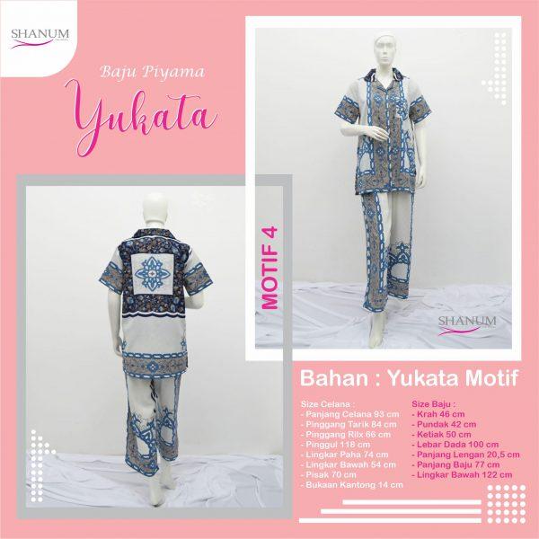 supplier Piyama Yukata Motif 4